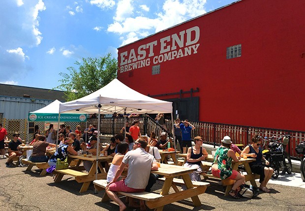 PHOTO COURTESY OF EAST END BREWING