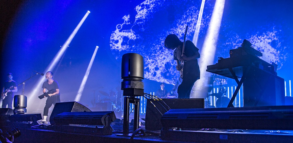Radiohead performs at PPG Paints Arena on Thu., July 26. - CP PHOTOS BY MIKE PAPRIELLA