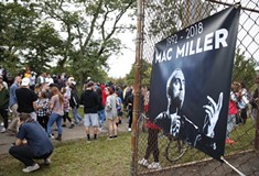 Fans, friends, and family remember Mac Miller at Blue Slide Park