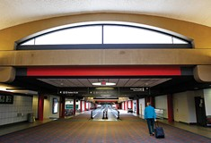 Is the Pittsburgh airport building up a flight bubble?