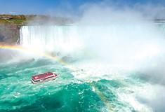 Go to Niagara Falls, if you want