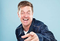 Jim Breuer hustles so his audience can relax