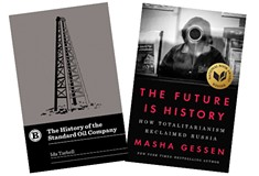 Russian-American activist/author Masha Gessen investigates power and corruption