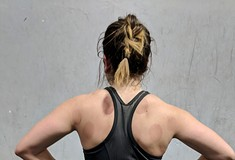 Cupping therapy pulls tension up, like the opposite of massage, but in a soothing way