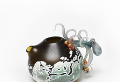 Admire and/or buy 'functionality optional' teapots at the 13th iteration of <i>Teapots!</i>
