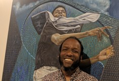 Politically-charged Pittsburgh artist Ulric Joseph wins Best of Show in this year's Juried Visual Art Exhibition at Three Rivers Arts Festival