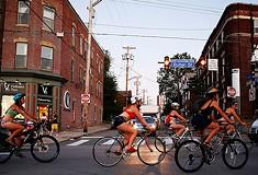 Underwear Bike Ride brings half-nekkid cyclists to Lawrenceville