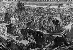 A new show of Douglas Cooper's panoramic sketches of Pittsburgh