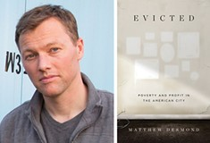 In his book Evicted, sociologist Matthew Desmond tells the stories of struggling families in Milwaukee and explores the causes and costs of unstable housing