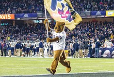 Panther Party: University of Pittsburgh football fans make the trip to New York for Pinstripe Bowl