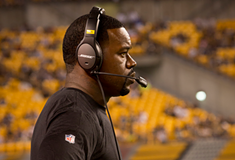 Pittsburgh police release security camera video but not officer body-camera footage in arrest of Steelers coach Joey Porter