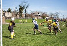 The Pittsburgh Pucas bring the Gaelic sport of hurling to the Steel City