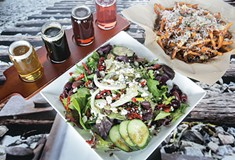 The Railyard Tap Room, in Bridgeville, makes a good stop for inventive pub fare and plenty of beer