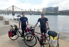 Korean cyclists bike across U.S. to raise awareness about 'comfort women'