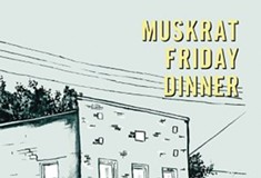 Scott Silsbee's poetry collection <i>Muskrat Friday Dinner</i>