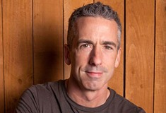 Dan Savage takes questions from a live studio audience