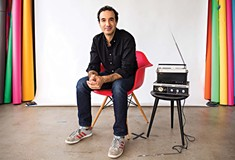 Radiolab host Jad Abumrad speaks at Carnegie Library and Lecture Hall on Fri., April 6