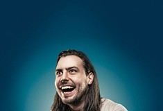 Party philosopher Andrew W.K. performs at Mr. Smalls Tues., May 22