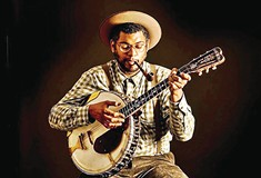 Folk musician Dom Flemons tackles the legacy of the black cowboy