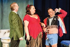 <i>Dirty Rotten Scoundrels</i> helps revive theater's book musical