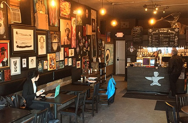 Black forge coffee house makes allentown a destination for for Local house music