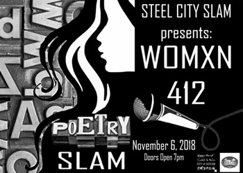 """Womxn 412 offers a """"no dude poets"""" poetry slam at City of Asylum"""