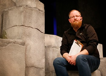 A talk with assistant stage manager Phill Madore