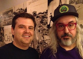 Playing disc golf with J. Mascis in the Catskills