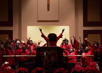 The Hill District's historic Ebenezer Missionary Baptist Church celebrates Christmas with song and dance