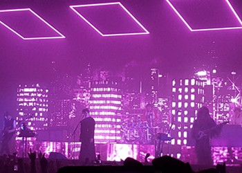 The 1975 bring a vibrant sci-fi Halloween party to Stage AE