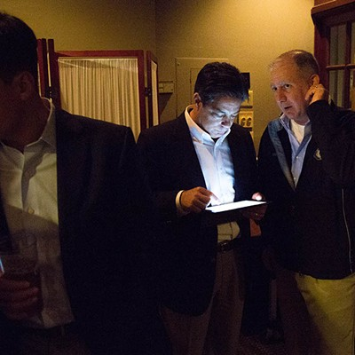Election night 2015