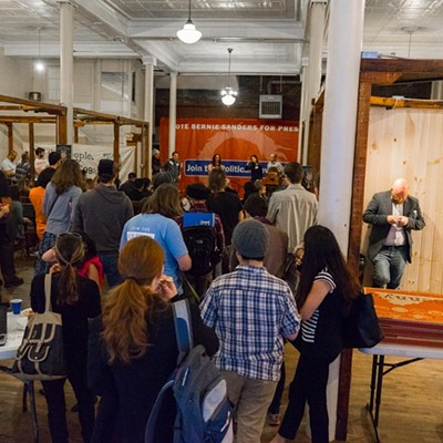Bernie Sanders Pittsburgh Campaign Office Opening