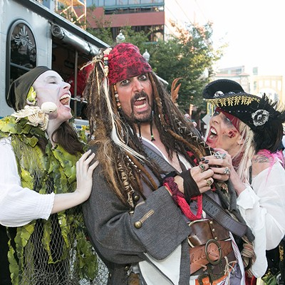 Pittsburgh Pirates' Zombie Night at PNC Park