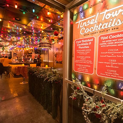 Tinseltown holiday pop-up bar