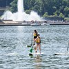 Standup paddleboarding is growing more popular on Pittsburgh's rivers