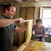 A recipe for fresh tagliatelle pasta from Dave Anoia