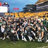 First weekend of WPIAL football championships is worth suffering through a cold, wet Pittsburgh Saturday