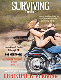 Christine Blackburn is Surviving The Ride! - Uploaded by Christine Blackburn