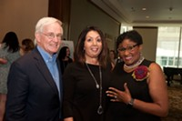 Tom Murphy, POWER Exec Dir. Rosa Davis, and Brenda Waters - Uploaded by mmuth