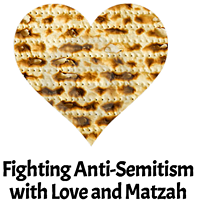Push back on anti-semitism with love and matzah! - Uploaded by VertigoMediaGroup