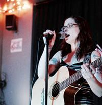 Carrie Collins @ Brewer's Very Open Mic - Uploaded by Liz Tripoli