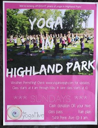 Yoga Hive in Highland Park - Uploaded by Shari Paglia