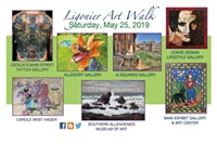 Ligonier Art Walk—Spring 2019 - Uploaded by Allegory Gallery
