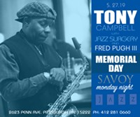 saxophonist, Tony Campbell - Uploaded by Charlie G.