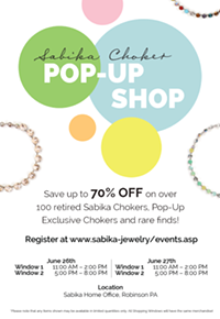 Sabika Choker Pop-Up Shop - Uploaded by Team Sabika