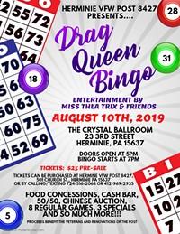 Drag Queen Bingo - Uploaded by VFW Post 8427