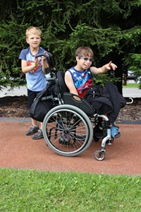 Camp Woodlands Jr. participants having a great time at camp - Uploaded by TheWoodlands