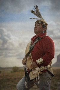 Larry Redhorse, member of the Navajo Nation - Uploaded by pwhitehorn