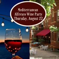 Alfresco Meditteranean Wine Party - Uploaded by BrandMill