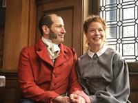 PHOTO COURTESY OF  PICT CLASSIC THEATRE. - Paul Bernardo as Mr. Rochester and Karen Baum as Jane Eyre